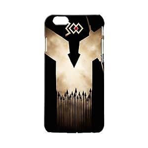 BLUEDIO Designer 3D Printed Back case cover for Apple Iphone 6 Plus / 6S plus - G6912