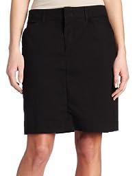 Dickies Women\'s 20 Inch Stretch Twill Skirt, Black, 8