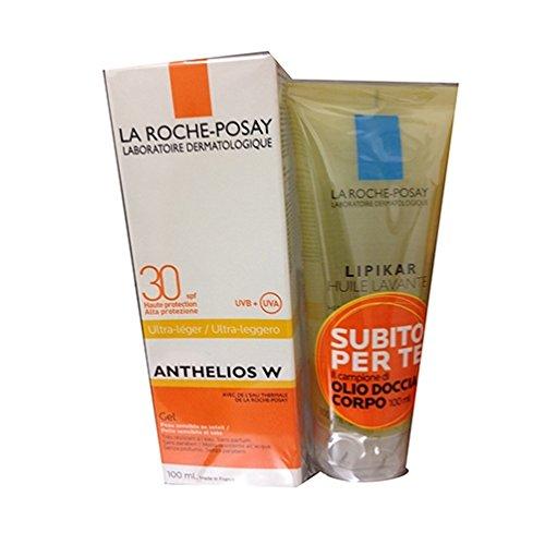 La Roche Posay Anthelios W Spf 30 Gel Solare Corpo+ Lipikar Olio Lavante Omaggio