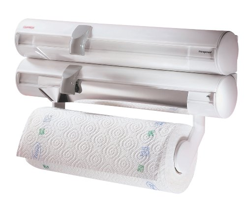 leifheit-rolly-mobil-portarrollos-de-cocina-para-papel-transparente-y-de-aluminio