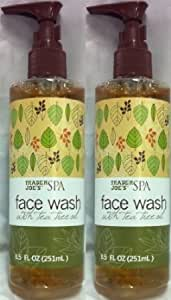 2 pack trader joe 39 s spa face wash with tea tree oil beauty. Black Bedroom Furniture Sets. Home Design Ideas