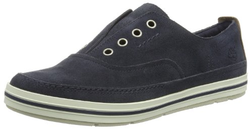 Timberland Women's Earthkeepers Casco Bay Laceless Slip On Trainers Blue Bleu (Blue) 38