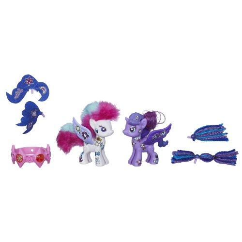 My Little Pony Pop Rarity and Princess Luna Deluxe Style Kit - 1