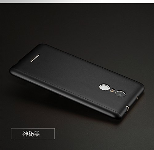 huge discount d0f6c d00f8 iPaky AT15526 360 Protective Body Case with Tempered Glass for Xiaomi Redmi  Note 3,(Black)