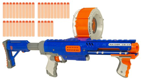 Nerf Raider Rapid Fire CS-35 N-Strike Dart Blaster