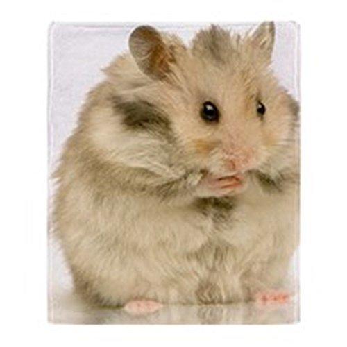 CafePress - Hamster - Soft Fleece Throw Blanket, 50