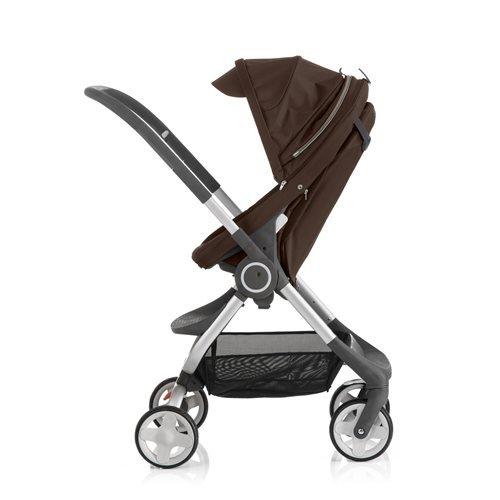 Stokke Scoot Stroller - Brown front-1040255