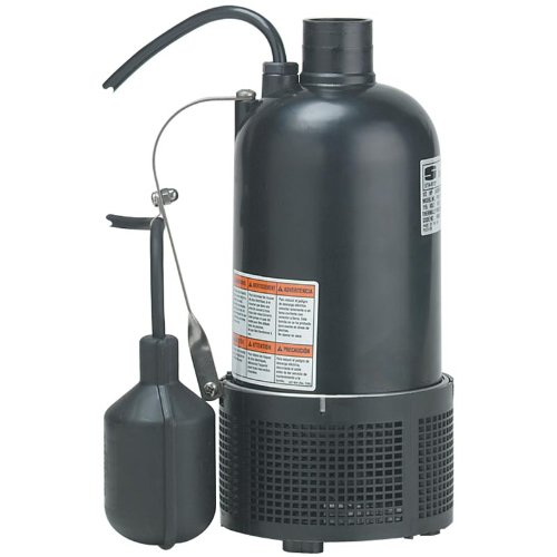 Sta-Rite D175120M Submersible Utility / Sump Pump - Manual Switch