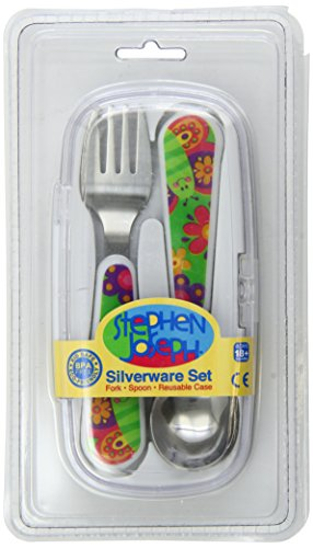 Stephen Joseph Fork and Spoon Set, Butterfly