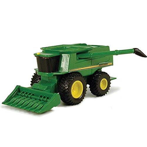 John Deere Mini Toy Combine with Corn Head #35652 - 1