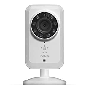 Belkin NetCam Wireless IP Camera for Tablet and Smartphone with Night Vision and Digital Audio by WeMo