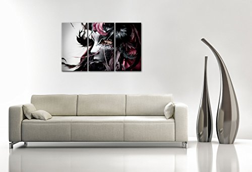 impression gicl e sur toile en grand format venice vission 120x80cm photo sur toile de. Black Bedroom Furniture Sets. Home Design Ideas