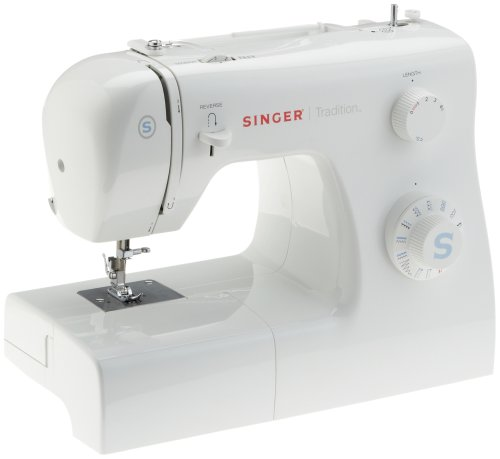 Singer 42259 Machine à  Coudre Tradition 31 Points Ajustables Boutonnière 4 Temps