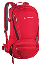 Vaude Bike Alpin Backpack, 25+5-Liter, Red