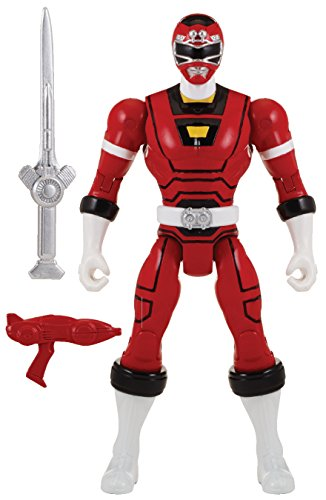 "Power Rangers Super Megaforce - 5"" Turbo Red Ranger Action Hero - 1"