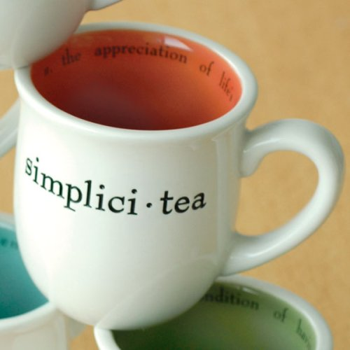 Tea Talk Teacup - Simplicitea - Buy Tea Talk Teacup - Simplicitea - Purchase Tea Talk Teacup - Simplicitea (Wrapables, Home & Garden, Categories, Kitchen & Dining, Tableware, Glassware & Drinkware)