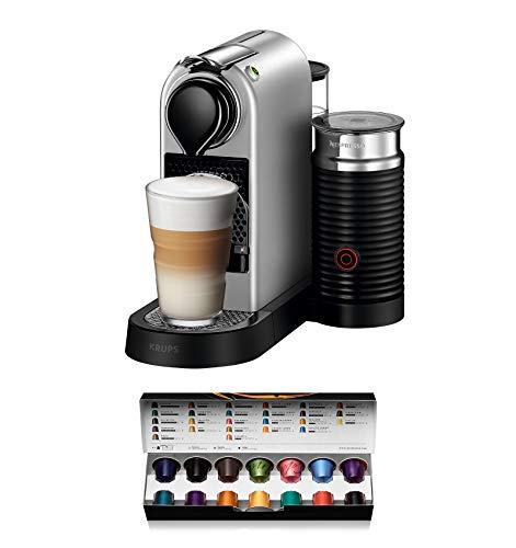 Nespresso DeLonghi Essenza Mini EN85.B color negro apagado autom/ático 19 bares Cafetera monodosis de c/ápsulas Nespresso compacta