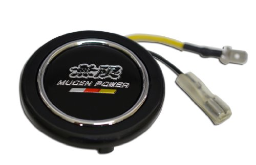 Mugen Power Steering Wheel Horn Button Crest for Honda Acura Civic Fit Prelude Integra RSX Accord Si RSX GSR TSX CL TL GSR LS EK9 EK EG Type-R S JDM other models (Rsx Type S Steering Wheel compare prices)