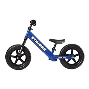 Strider ST-4 No-Pedal Balance Bike, Blue, One Size