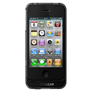 EXOGEAR exolife iPhone 4 Battery Case  (Black)