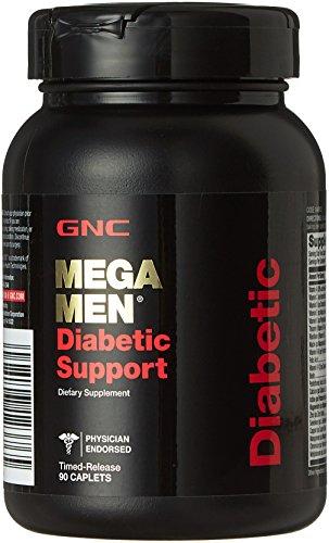 GNC Mega Men Diabetic Support 90 Caplets