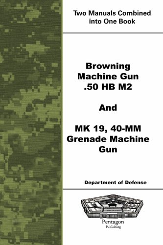 Browning Machine Gun .50 HB M2 and MK 19, 40-mm Grenade Machine Gun