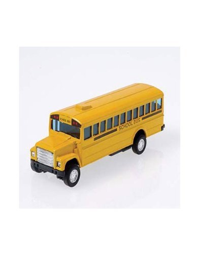 "US Toy Die Cast Metal Toy School Bus, 5"" - 1"