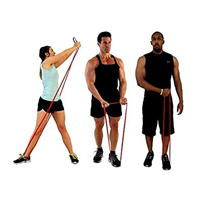 Heavy Duty Pull up and Powerlifting Bands By Draper's Strength - Add Resistance For Stretching, Exercise, and Assisted Pull-ups. Free E-workout Guide (Band Set Per Order)
