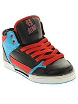 etnies Uptown 2.0 Skate Shoe (Toddler/Little Kid/Big Kid),Black/Blue,4 D US Big Kid