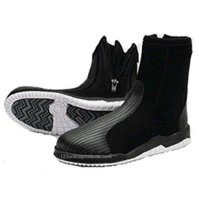 Tilos 5mm Titanium Hydro Tall Zip Boots Boots, Booties Fins, Footwear & Gloves