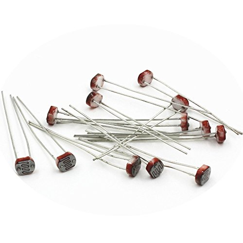 gloednApple Photoresistor GL5537 5537 LDR Photo Resistors Light-Dependent Set Of 20PCS