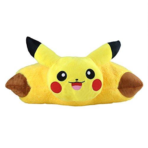 Katara 1750Pokémon Go puscheliges ratina per cuscino peluche/peluche, con idea come regalo simpatico Pikachu, XXL, 40cm, colore: giallo