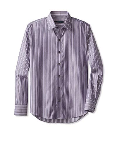 Zachary Prell Men's Tidquist Striped Long Sleeve Shirt