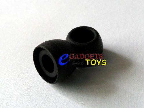 3 Pair Black Small Replacement Silicone Ear Tips For Yamaha Eph-20 Eph-30 Eph-50 Earphones