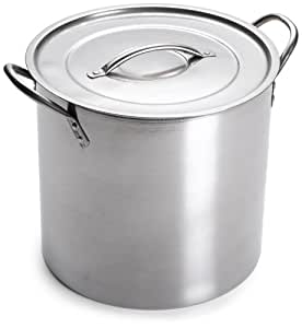 Imusa Stainless Steel Stock Pot, 12 Quart