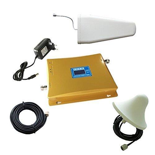 emebay-Dual Band amplificatore di segnale booster ripetitore GSM 900MHz + 3G WCDMA 2100MHz