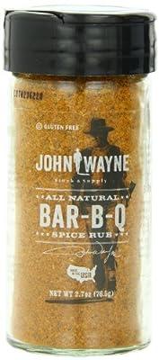 John Wayne Spice Rub, BBQ, 2.7 Ounce by Fire & Flavor