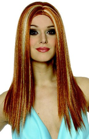 Spicy Wig (Mixed Apricot) Adult Halloween Costume Accessory