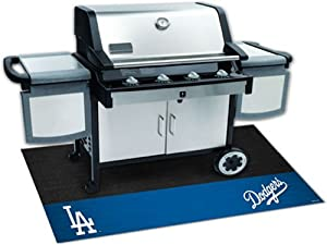 Fanmats 12158 MLB - Los Angeles Dodgers Grill Mat by Fanmats