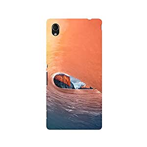 TAZindia Designer Printed Hard Back Mobile Case Cover For Sony Xperia M4