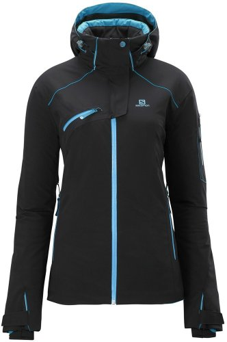 Salomon Speed Jacket Women Skijacke Black Gr L
