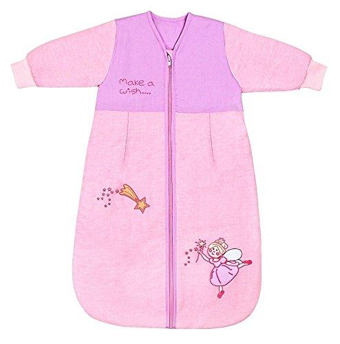 schlummersack baby winter schlafsack langarm 3 5 tog 56cm neugeborene pink fairy. Black Bedroom Furniture Sets. Home Design Ideas