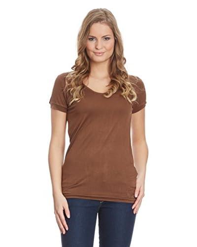 Time Out T-Shirt Manica Corta [Cioccolato]