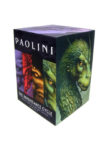Inheritance Cycle 4-Book Trade Paperback Boxed Set (Eragon, Eldest, Brisingr, Inheritance) cover image