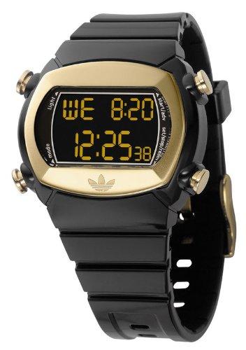 Adidas Candy Unisex Originals Digital Black Rubber Bracelet Watch ADH1572