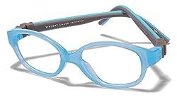 Vincent Chase Flex VC 8026 Sky Blue Transparent Sky Blue Grey C2 Kids' Eyeglasses (Kids 1-5 yrs)