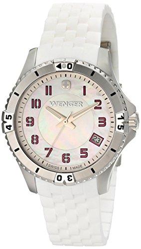 Wenger Reloj de mujer cuarzo analógico, con fecha 0121.103