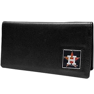 MLB Houston Astros Leather Checkbook Cover