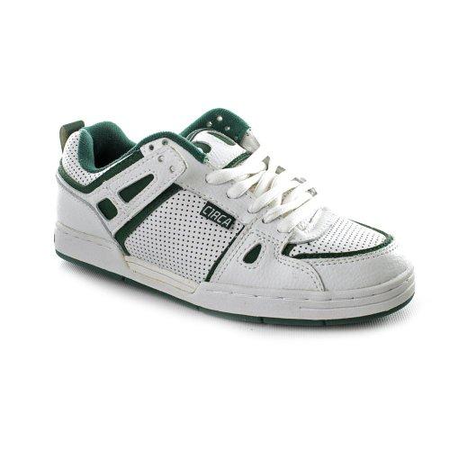 Circa Rogue Skate Shoes White Youth Boys
