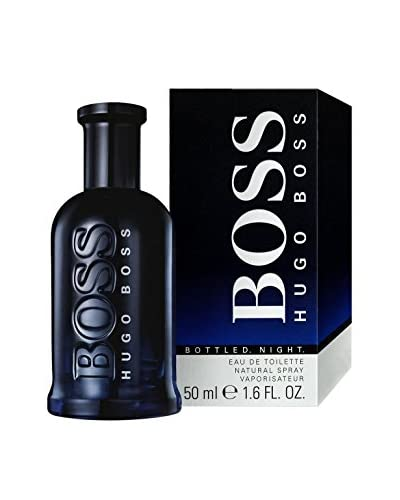Hugo Boss Eau De Toilette Uomo Bottled Night 50 ml